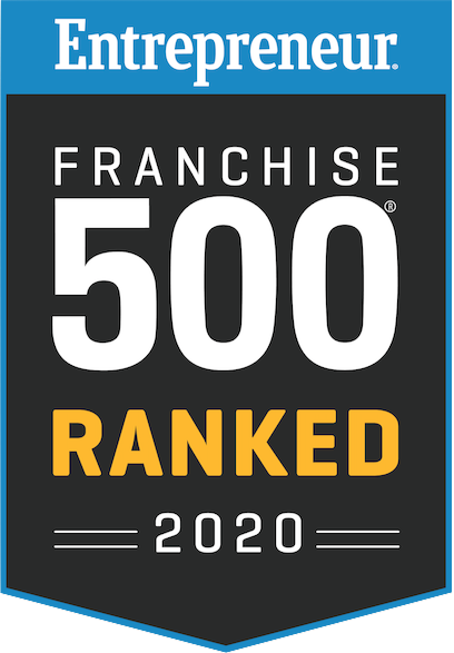 Entrepreneur Franchise 500 ranking badge for Sky Zone